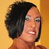 jacque horan female bodybuilder muscle flexing