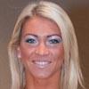 Melinda Szabo Fitness Athlete Flexing Muscles