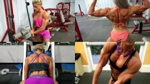 "AMAZING Olympia ""Peak Week"" Muscle - get it today at the Autumn Swansen Studio at HDPhysiques.tv"