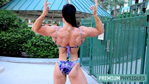 The astonishing structure and genetics of IFBB Pro Sara Butler - Now Available at our sister site, PremiumPhysiques.com - JOIN TODAY!