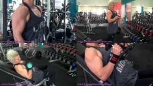 Aussie Talor Martin has put on some QUALITY MUSCLE lately - get her 3 new clips today!