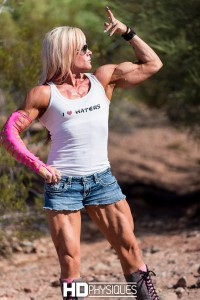 Join HDPhysiques for the brand new model page for Amanda Ptak!  Awesome ripped muscles!