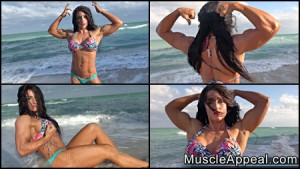 The Muscle Appeal Studio (Muscle Girl World) now features a new video with SEX KITTEN, Sam Hattlestad - Get this hot video today!