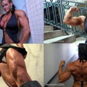 Check out massively muscular Theresa Ivancik, the newest video in the Awefilms Studio at HDPhysiques.tv, the FemaleMuscleStore!