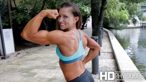 Look at how gorgeous this stunning woman of muscle is! Join HDPhysiques today for the amazing Holland Canter!