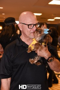 IFBB Judge John Hnatyschack... a softy at heart!