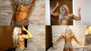 Meet the winner of the 2016 Arnold Women's Physique Championship, Autumn Swansen - ULTRA ripped muscle posing - now available in her studio at HDPhysiques.tv!