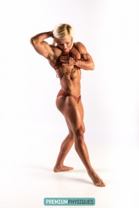 Deep cut abs, big powerful thighs and biceps... Brooke is sensational! Join PremiumPhysiques.com for more!
