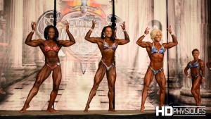 Check out the top 3 in Pro Women's Physique at the 2016 STL Pro Show - what an incredible lineup!