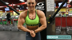 Join our sister site, PremiumPhysiques.com, for new gym footage and sexy posing from Katie Lee the BICEPS QUEEN!