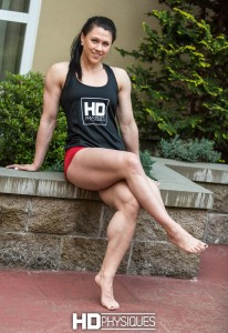 Kassie Kemmis and her amazing legs - NEW gallery update on her page - JOIN HDPhysiques today!