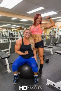 Check out both of the new model pages for Katie Lee and Lauren Dean (The Secret Weapon) for amazing new gym photos and vids!