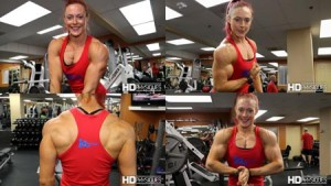 TWO awesome new videos now available in the Katie Lee PEAK POWER Studio at HDPhysiques.tv - get them today and support Katie!