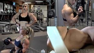 Shannon Courtney's HUGE Biceps UP-CLOSE - get this hot new video today at HDPhysiques.tv