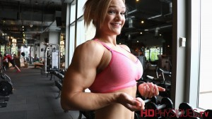 Check out the awesome Danielle Mastromatteo in a new clip at HDPhysiques.tv - in the HDPhysiques Clips Studio!