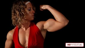 "Visit the Alli Schmohl Clips Studio for AMAZING new videos of her huge 16"" guns!"