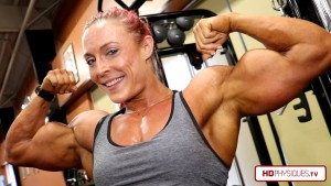 Get your butts over to the Katie Lee PEAK POWER Studio at HDPhysiques.tv - the Female Muscle Store!