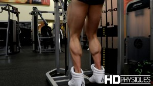 Look at those KILLER CALVES - Join HDPhysiques now for NEW MODEL Natalia Coelho!
