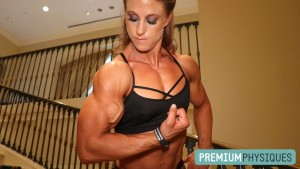 LOOK at that BICEP VEIN! - Opt-in for the PremiumPhysiques COMBO MEMBERSHIP when you sign up for HDP, and get the very latest of sponsored athlete Alli Schmohl in RIPPED Contest shape!