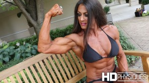 JOIN NOW for the amazing ripped biceps of Mica Schneider!