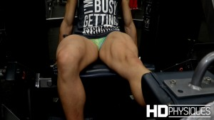 Natalia has some of the hottest legs on earth. SO STRONG!  Join HDPhysiques now for this gorgeous sexy lady of muscle - only 20 years old!
