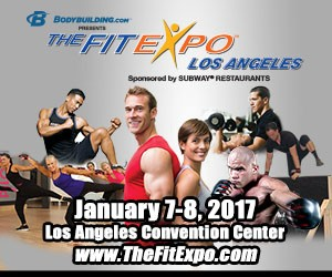 If you're on the west coast, the LA Fit Expo is the place to be, first weekend of January, 2017 - see you there!