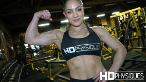 Join HDPhysiques now for sensational IFBB Fitness Pro, Ariel Khadr!