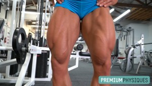 The absolute ULTIMATE in muscular legs - Join PremiumPhysiques today for the latest Brooke Walker!