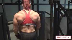 Incredible size and powerful thickness - get all the latest Katie Lee videos at her PEAK POWER studio at HDPhysiques.tv!