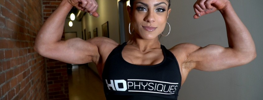 BOOM!  Check out the guns on the gorgeous Ariel Khadr - get access to her new page by joining HDPhysiques now!