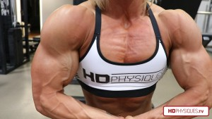 MIND-BLOWING MUSCLE! - Check out the all-new Brooke Walker Clips Studio at HDPhysiques.TV for mega-sized muscle like this!
