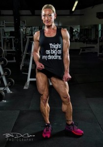 Holy shit - look at those legs!  DEADLY!  - Get them today in the Jill Diorio Calves Galore Studio at HDPhysiques.tv!
