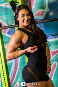 What a BEAUTIFUL Girl with muscle - it doesn't get much better than this, folks! - JOIN NOW for Brigitte Goudz!