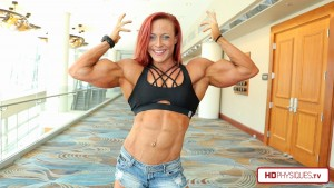"New clips of Katie Lee in contest shape now available in her ""Peak Power Studio"" at HDPhysiques.TV!"