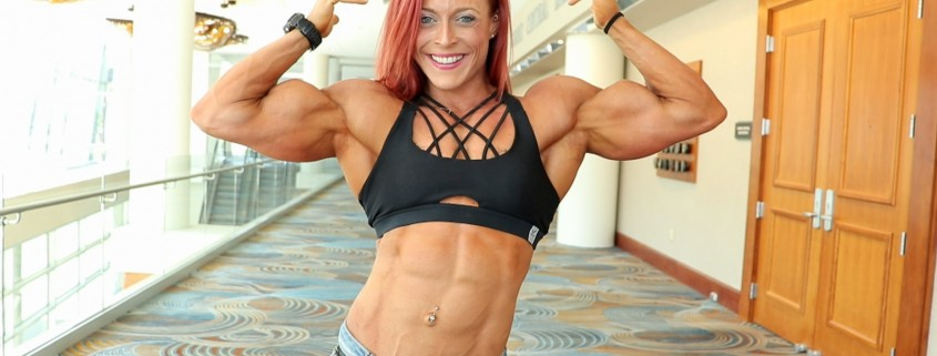 """New clips of Katie Lee in contest shape now available in her """"Peak Power Studio"""" at HDPhysiques.TV!"""