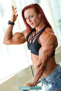 Good grief!  Look at those amazing biceps and triceps!  Join PremiumPhysiques today for all new Katie Lee pics and vids!