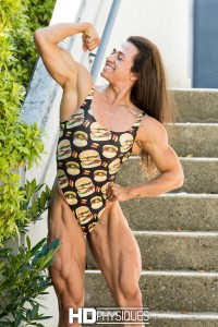 Here's a sneak preview of the AMAZING Alyssa Coppolino - new IFBB PRO from Canada, from this past weekend's CBBF Canadian Nationals!