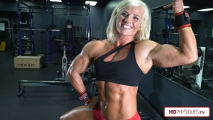 Brooke Walker's newest video is sure to wow you!  - Gorgeous Blonde muscle, what more can u ask for!  :)