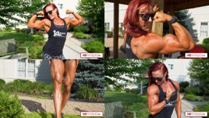 "Picture Perfect! The ultimate biceps now available in 4K - click here to be taken to the ""Katie Lee's Peak Power Studio""!!!"