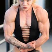"SUPER STRONG and muscular - JOIN HDPhysiques today for the amazing Kennedy Ledgerwood, or ""Ledgy"" as we like to call her!"