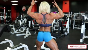 Brooke keeps getting bigger and bigger - get her newest video today at HDPhysiques.TV, the FemaleMuscleStore!