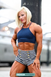 TONS of HOT female muscle. Brooke is the best - Join PremiumPhysiques now for this latest amazing shoot!