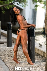 Outrageous calves!  Check out the new Kelly Lynn Nauyokas model page and be wowed by this incredible woman of muscle!