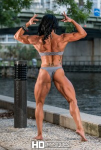 Ultra-impressive back, glutes, legs, & biceps - Join HDPhysiques now for HOT new Pro, Lisa Luettinger!