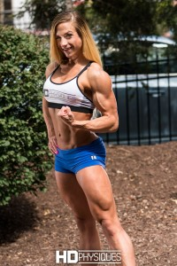 HUGE QUADS, ripped biceps - Join HDPhysiques for the lovely and powerful Rachel Killam!