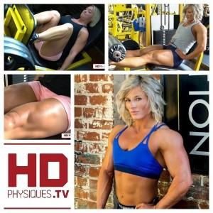 Get this HOT new video in the Christine Moyer Clips Studio at HDPhysiques.TV - see Brooke Walker train legs with Christine!