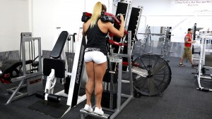 The INSANE calves of gorgeous Rachel Killam - Join HDPhysiques now for these amazing clips!