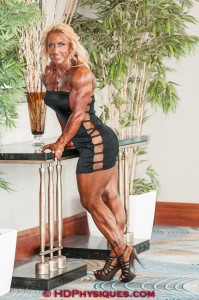 Absolutely MASSIVE - Join HDPhysiques now for the huge and powerful Judy Gaillard!