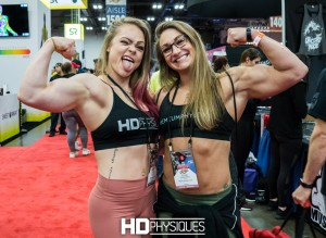 Check out HDP sponsored athletes Jordan Hartsell & Paige Sandgren (aka Beefnuggette) as they cover the 2018 Arnold Expo - Click here!