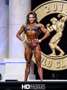 Natalia Coelho has the most ripped, feathered quads, we've ever seen - Join HDPhysiques now for the awesome contest shape photo galleries from her first Arnold, placing 2nd!